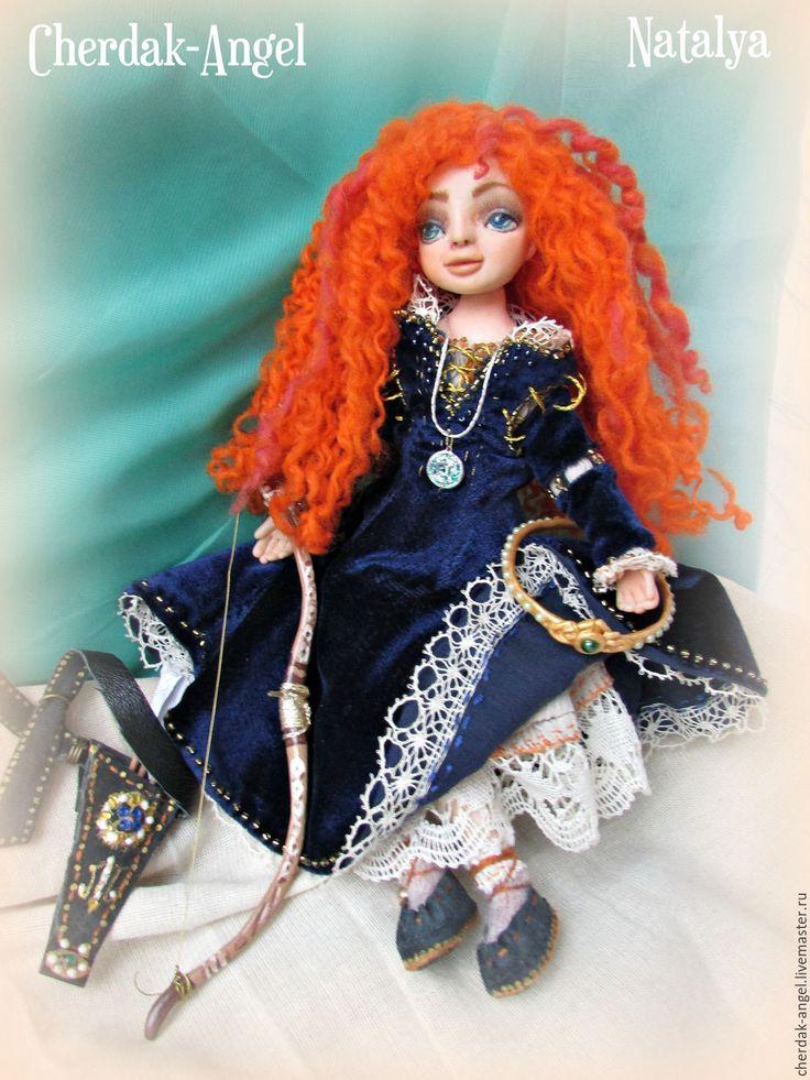 Купить Принцесса Мерида. Авторская кукла. - кукла ручной работы, кукла, принцесса, храбрая сердцем