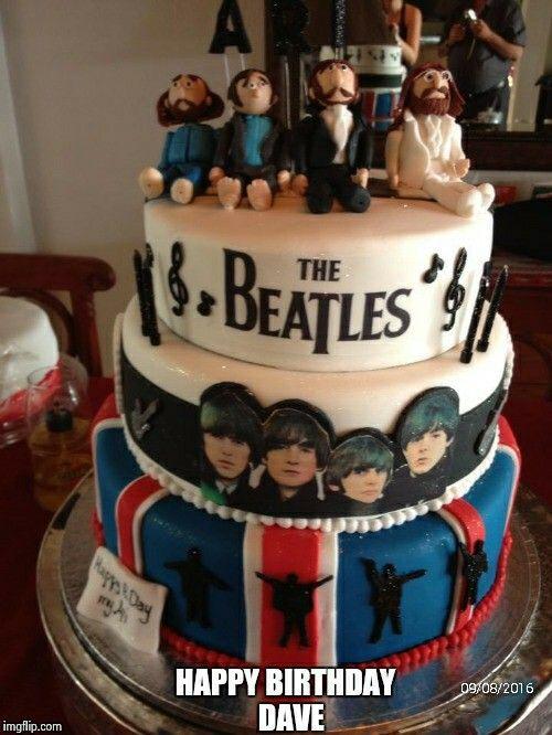 Beatles cake (Dave)