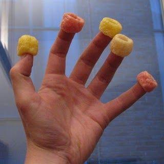 Zo at ik de nibb it rings; eerst alle rode en dan pas de gele