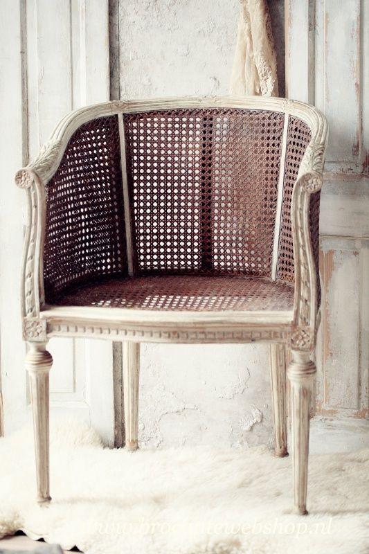 Antieke franse stoel