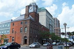 Brampton was incorporated as a village in 1853, taking its name from the rural town of Brampton, in Cumbria, England. Brampton was once known as The Flower Town of Canada,