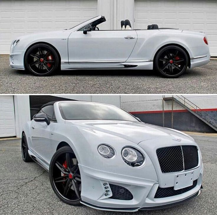Snow White Bentley Continental GT coupe convertible http://autopartstore.pro/AutoPartStore/