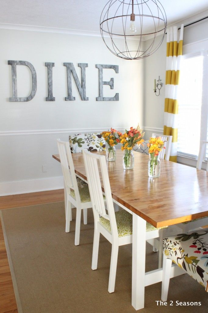 A Light Bright Dining Room Is Sure To Serve Dreary Day