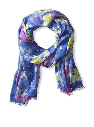 47% OFF Elizabeth Gillett Women's Aria Scarf, Blue