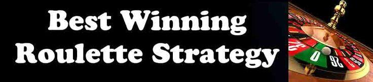 Best Winning Roulette Strategy