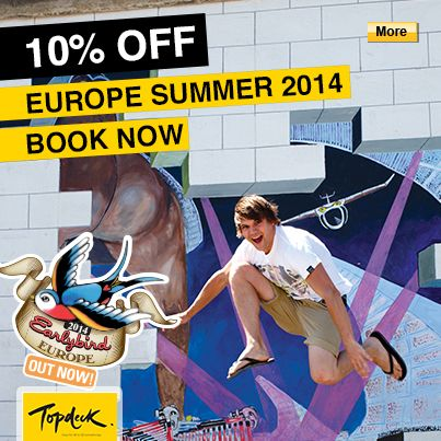 Save 10% on Topdeck 2014 Europe Summer Trips #Topdeck #Europe #StudentFlights #GoYourOwnWay #Travel