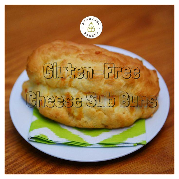 Yummmmm! Gluten-Free cheese sub buns! Peartree Bakery, Thunder Bay, ON