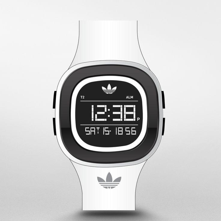 Y para despedir la semana os mostramos un #relojdigital de adidas Originals de la nueva colección #Denver, un modelo unisex  y deportivo en blanco, ideal para resaltar el bronceado. Disponible en http://www.todo-relojes.com/detalle.asp?codigo=30400 por 79€ #relojesAdidas #relojesdeportivos #todorelojes