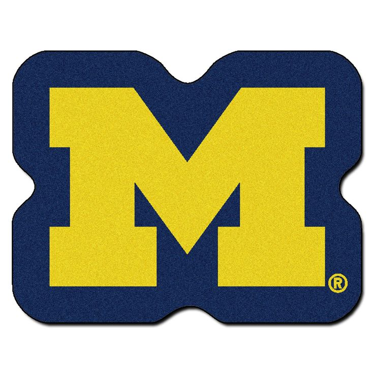 University of Michigan Mascot Mat