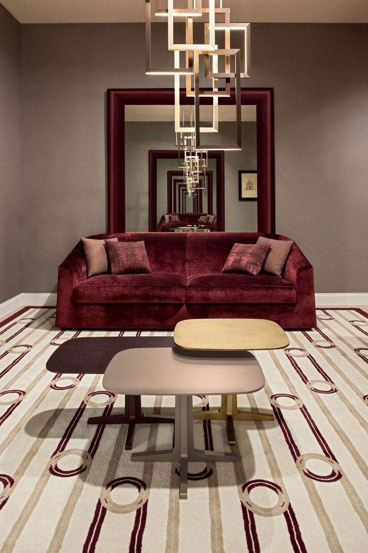 Clarisse sofa by Oasis, with Luis nest of tables and Edge pendant lamp.