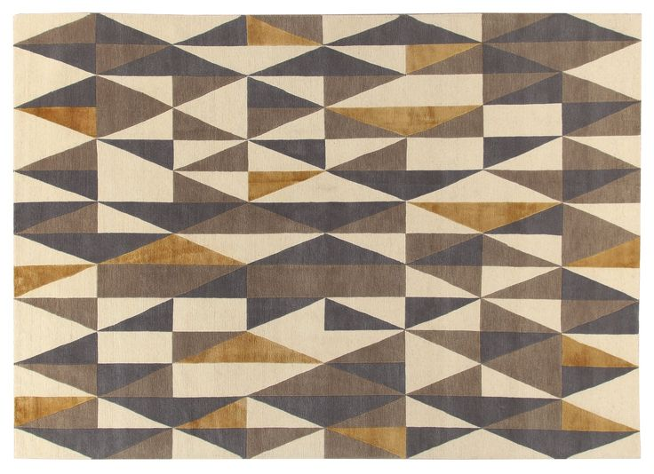 Diamantina Rug Gio Ponti Carpet Collection Handknotted in Nepal by AMINI Tibetan Wool and natural Silk 250x300cm