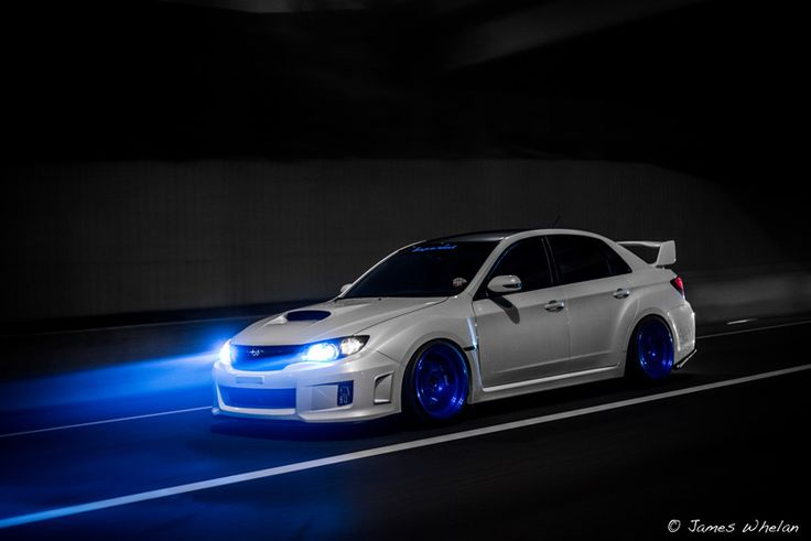 subaru-impreza-wrx-sti-white-blue | Rides & Styling