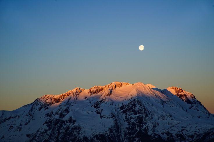 Full Moon - Alpe d'Huez