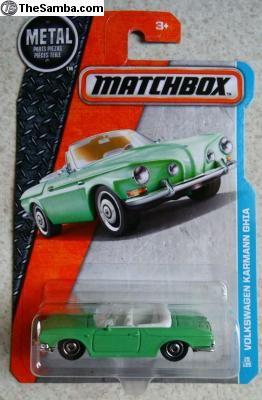Matchbox Volkswagen Karmann Ghia | Matchbox 2016 L Case