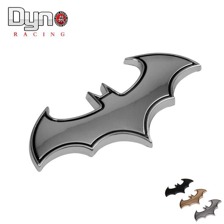 Etiquetas Engomadas del coche de Metal 3D Fresco de Metal Logo BAT BATMAN Emblema de la Insignia de Cola Accesorios Tatuajes de Coches