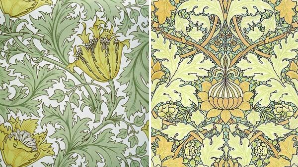 Lovely patterns, by William Morris