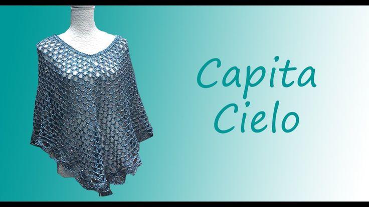 TEJIDA CAPITA CIELO - Crochet Fácil y Rápido - Ideal para Primavera Verano