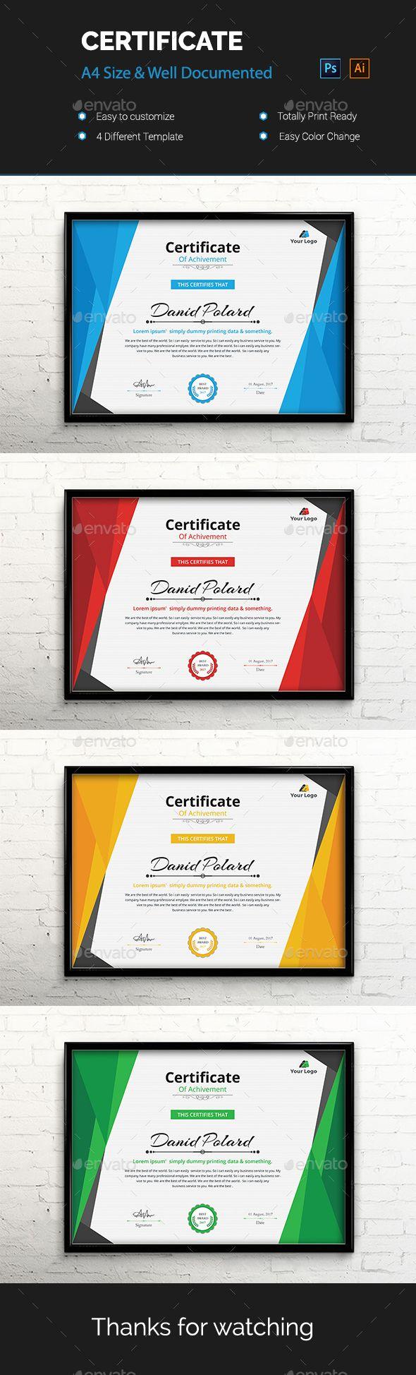 216 besten Certificate Templates MS Word Bilder auf Pinterest ...