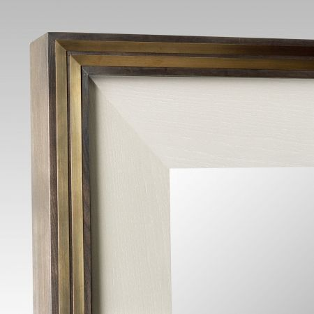 CHARLES BRASS MIRROR by Birgit Israel | MIRRORS in the BI Collection