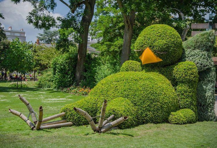 Expo Ponti au jardin des Plantes de Nantes