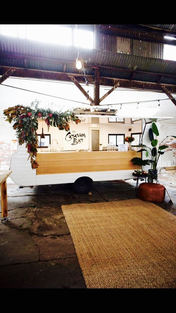 Warehouse heaven! The Caravan Bar dressed up for a local women in business event.