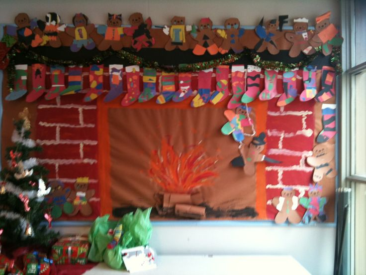 Gingerbread Pirates Display My Classroom Fireplace