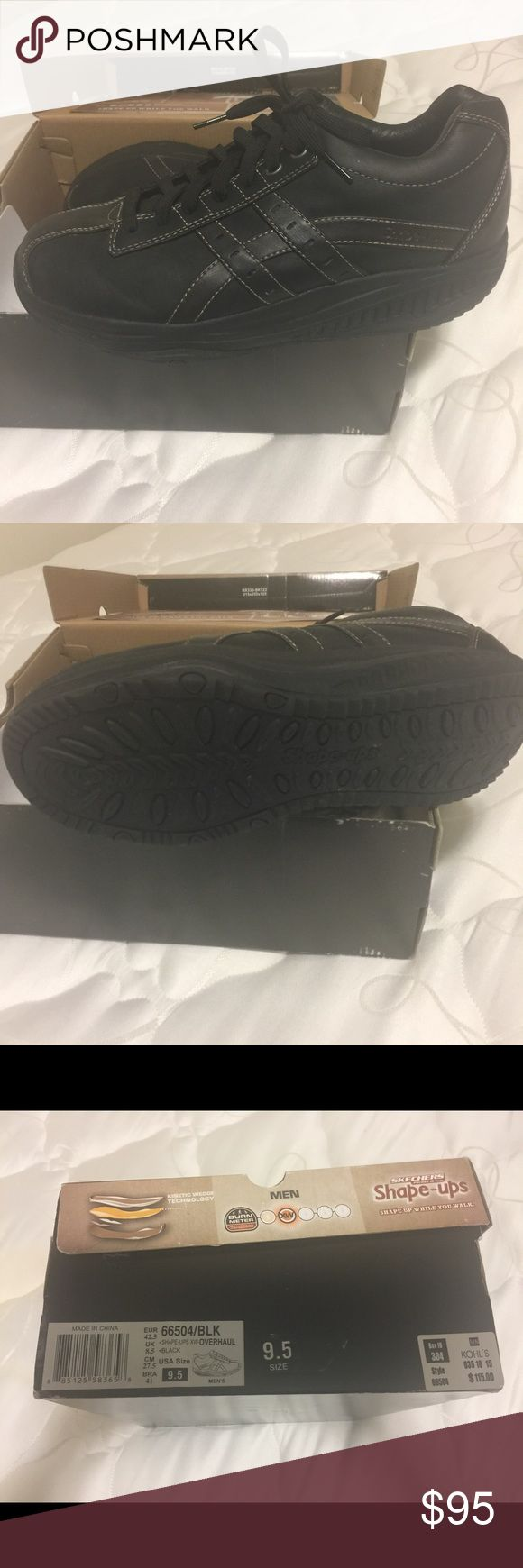 Sketchers shape-ups for men NIB Sketchers shape-ups for men. Purchased and only test wore them around the house once and never wore them again. They need a home. Very comfortable shoes. Skechers Shoes Athletic Shoes