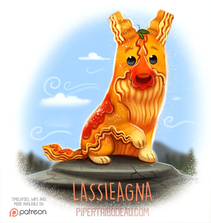 Daily+Paint+1533.+Lassieagna+by+Cryptid-Creations.deviantart.com+on+@DeviantArt