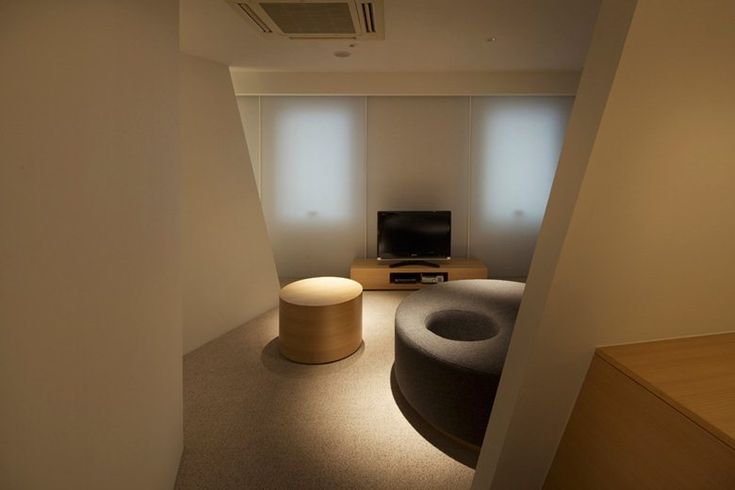 Hotel room, Osaka, Mifune Design Studio