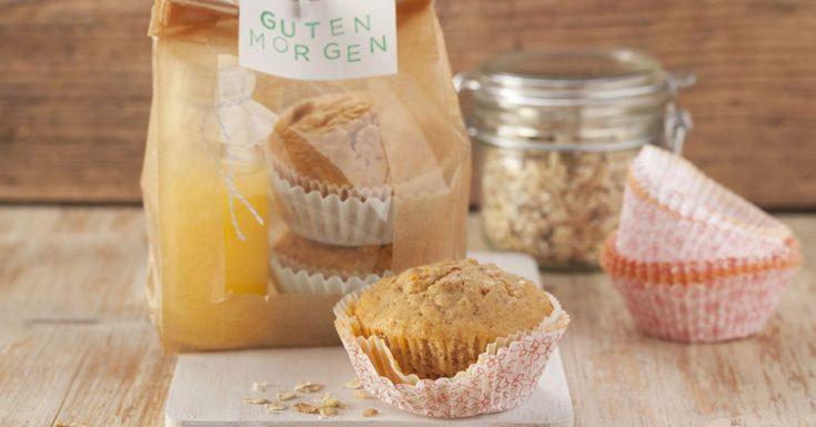 Diese Muffuns schmecken nicht nur zu Hause: Sie sind ideal zum Mitnehmen, z.B. als zweites Frühstück in der Arbeit oder als Snack bei einem Ausflug.