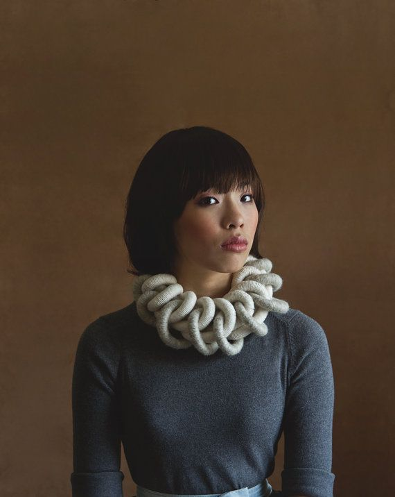 So they say statement necklaces are the trend this season. Yokoo Scarves & Accessories seems to have got it right!