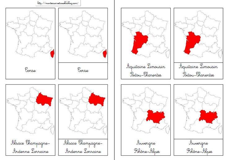 Nouvelles régions : Nomenclatures