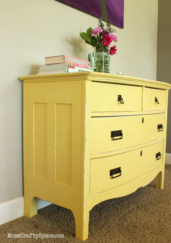 Best 25+ Yellow painted dressers ideas on Pinterest   Yellow ...