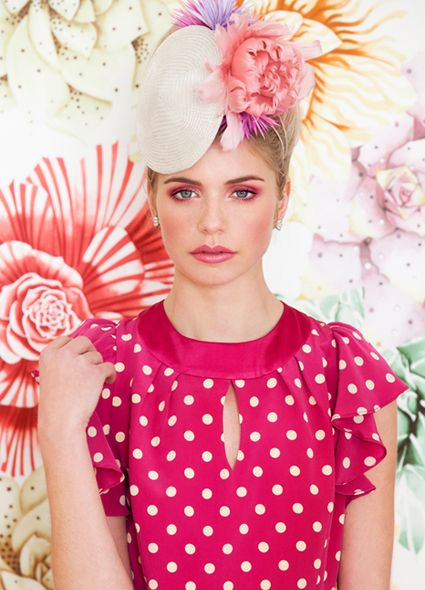 Millinery by Ann Shoebridge for Alannah Hill 2013