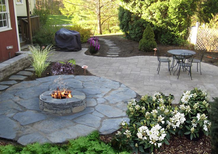 17 best images about patio on pinterest fire pits for Backyard rock fire pit ideas