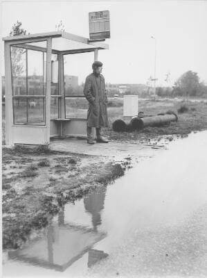Pionieren in de aan te leggen wijk Lewenborg