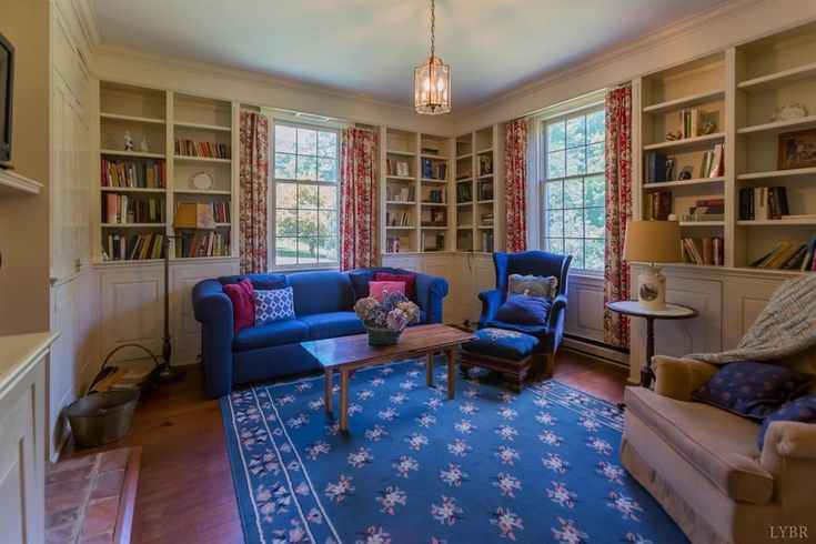 a formal library is often my favorite room in any house it has built in