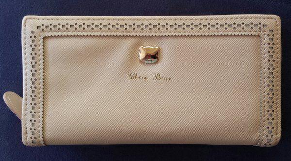 Woman's Wallet, Beige
