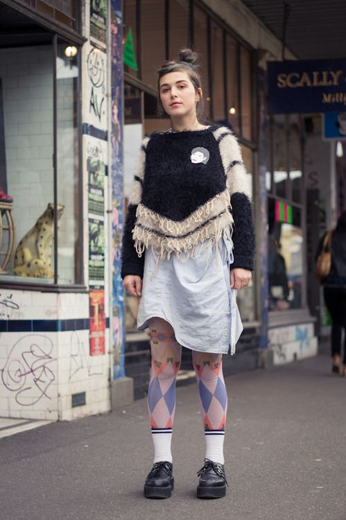 Passing by you caught my eye (Melbourne street style)