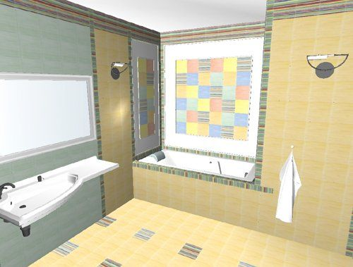 Bathroom Tile Planner 3d