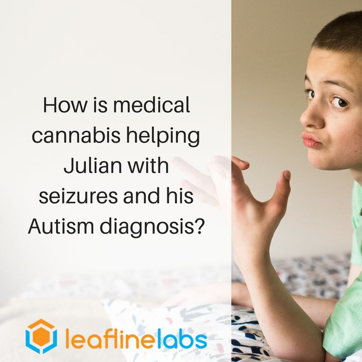 Julian, who was diagnosed on the Autism spectrum at a young age, was certified in the Minnesota Medical Cannabis Program for his seizures (at one point he was having 30-40 per day, many of which were grand mal), but is finding relief from symptoms of Autism, gastrointestinal intestinal issues, and neuropathic pain as well. His mother beliefs that medical cannabis has saved his life.