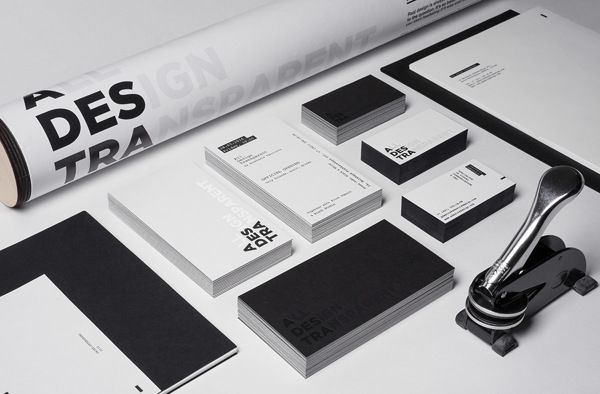 All Design Transparent. B&W Identity
