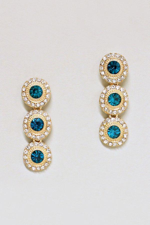 Mria Earrings in Sapphire