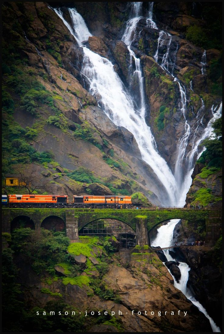 Dudhsagar Falls, India.