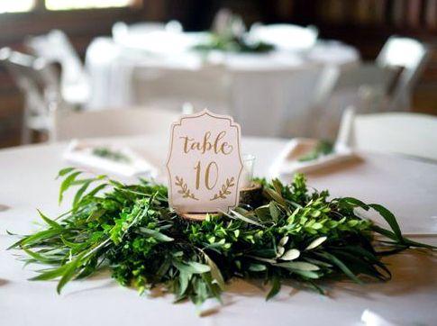 Tendenze matrimonio 2017: il tema Greenery: Fresco, essenziale ed ecofriendly. Per chi sogna un matrimonio così, la scelta è obbligata: seguire il suggerimento di Pantone e regalarsi delle fantastiche nozze Greenery!