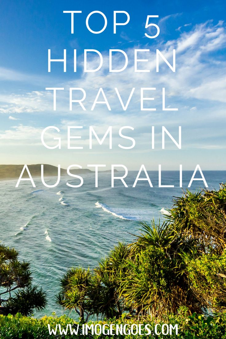 After nearly two years travelling, I've discovered some amazing hidden gems in Australia. Here are my top five lesser travelled places in Oz!