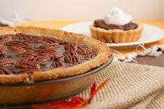 Een lekker koolhydraatarm nagerecht- of snack, chocolade pecan taart. Dit is een heerlijk nagerecht of snack om je trek in zoetigheid te stillen.