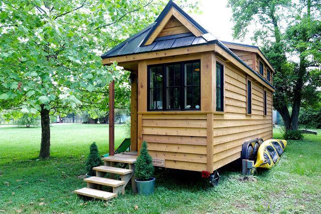 The appalachian tiny a 250 sq ft tiny house on wheels by the tumbleweed tiny house company - Appalachian container cabin ...