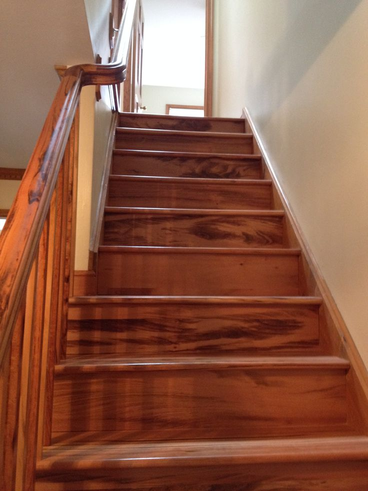 Best 25 stair treads ideas on pinterest redo stairs - Interior stair treads and risers ...