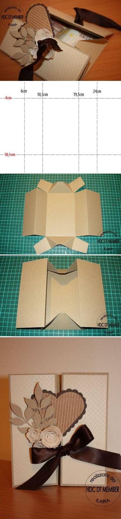 DIY Beautiful Envelope-great as a wedding invite